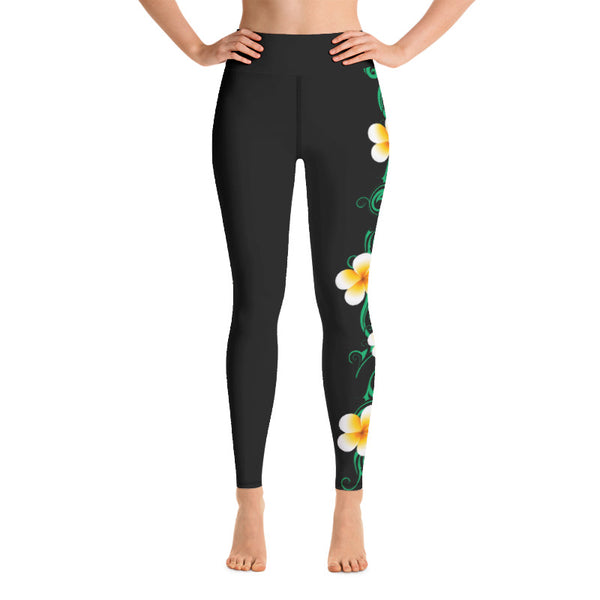 plumeria workout pants