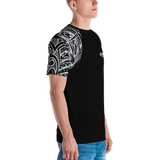 Polynesian mens short sleeve shirt