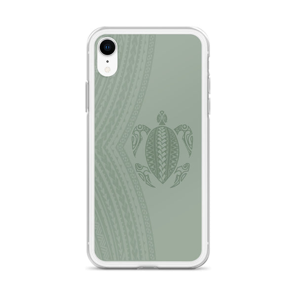 Green turtle tattoo iphone phone case