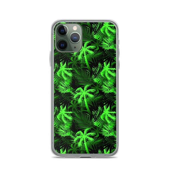 lime fern iphone case