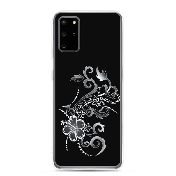 samsung galaxy floral tropical phone case