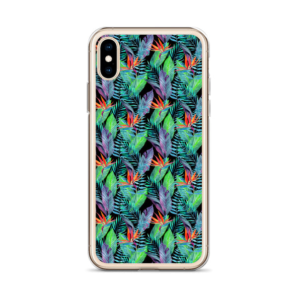 Bird of Paradise iPhone Case -  iPhone Case 11, 11 Pro, 11 Pro max 7, 8, plus SE, XR, X, XS, Xs max