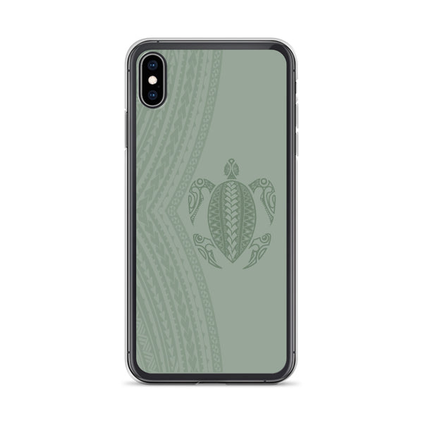 Samoan tattoo honu iphone case