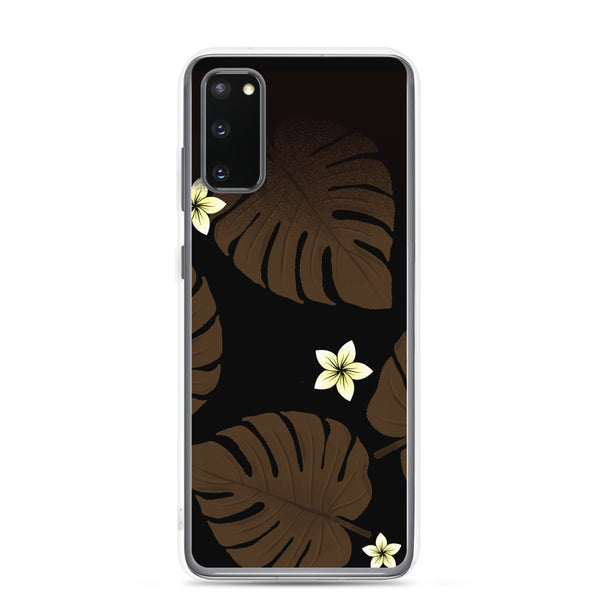 Plumeria and Fern Samsung case