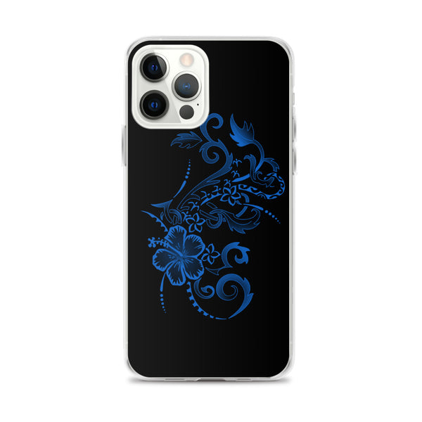 Floral hibiscus iphone case