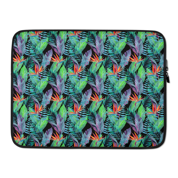 Bird of Paradise Tropical Laptop Sleeve / Case