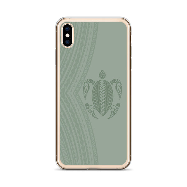 Polynesian turtle iphone case