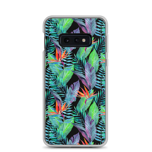 Bird of Paradise Larger Flowers - Samsung Case - Galaxy Case S10 S10+ S10E S20 Plus and Ultra