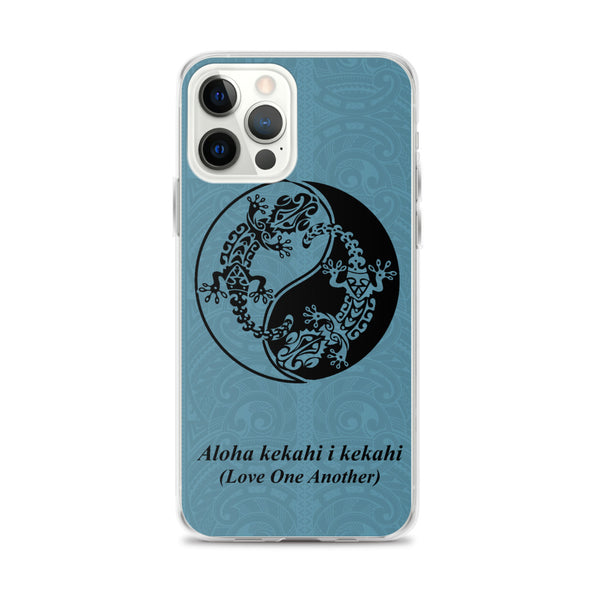 Yin Yang Hawaiian iphone case