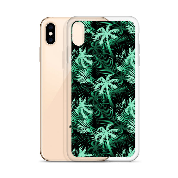 green palm phone case