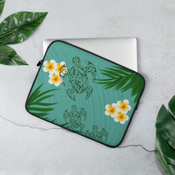 Polynesian laptop sleeve