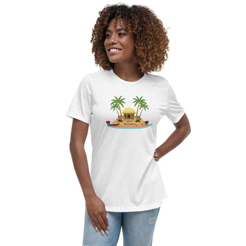 Christmas - Happy Huladays / Mele Kalikimaka Women's Relaxed Fit / Semi Fitted T-Shirt