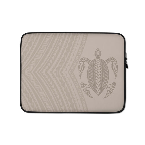 Honu (Hawaiian Sea Turtle) Tattoo Laptop Sleeve Case
