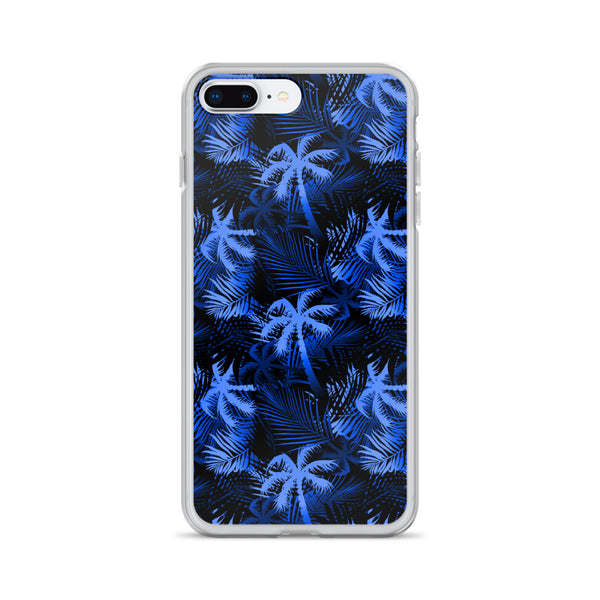 blue iphone hawaiian case