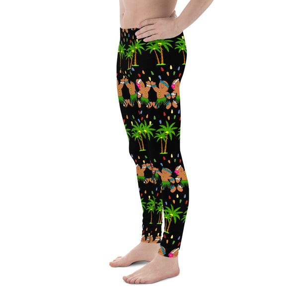 Christmas in Hawaii Men's Leggings