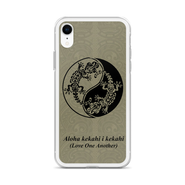 Gecko Hawaiian phone case