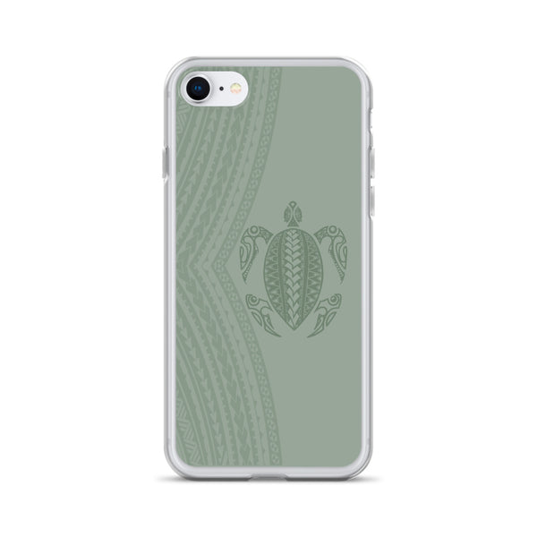Green Honu iphone case