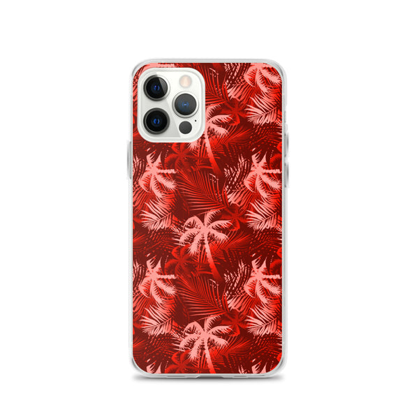 red palm tree iphone case