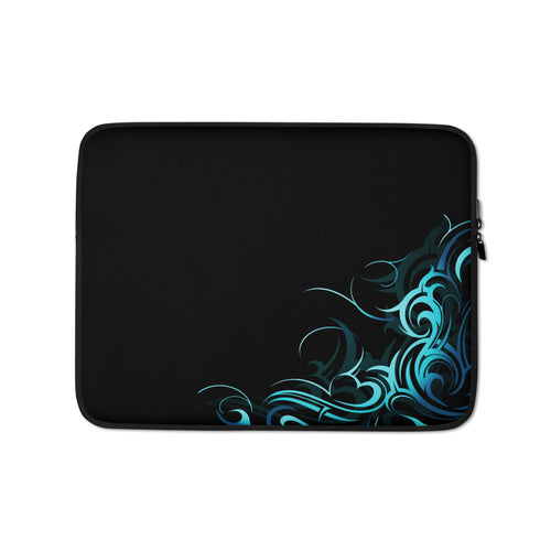 Abstract Wave Pattern Laptop Sleeve / Case