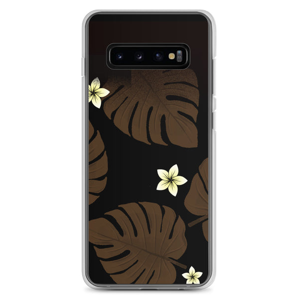 Monstera Leaf Samsung phone case