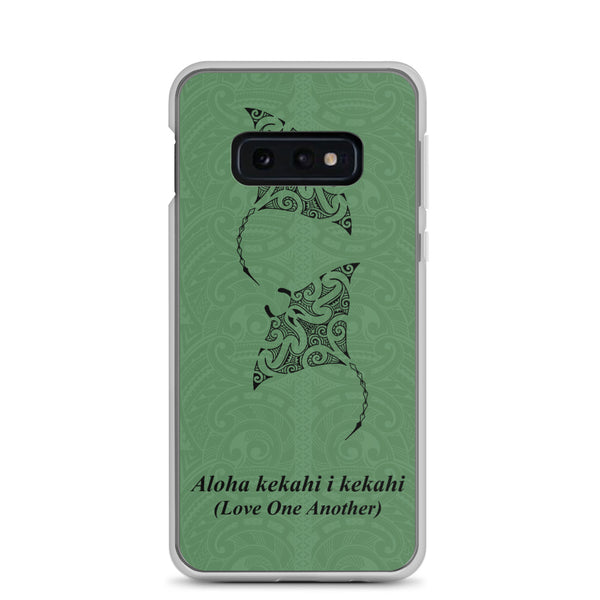 Polynesian tattoo samsung phone case