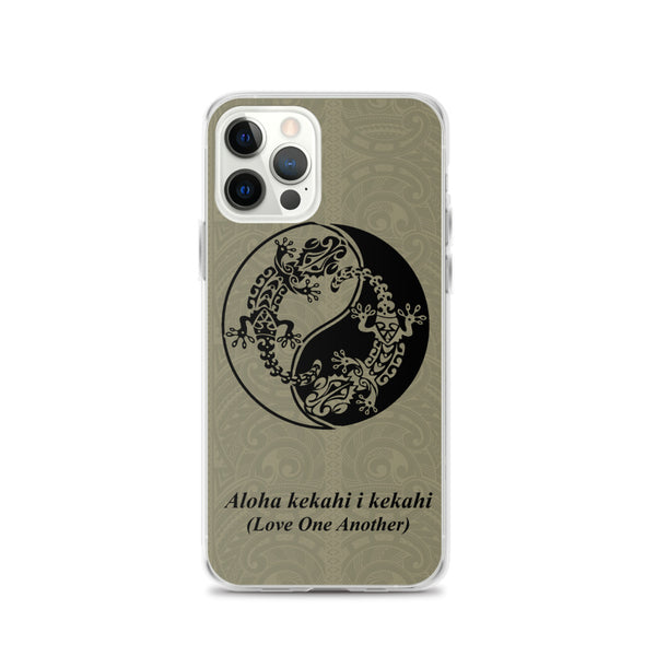 Gecko Tattoo Iphone Case