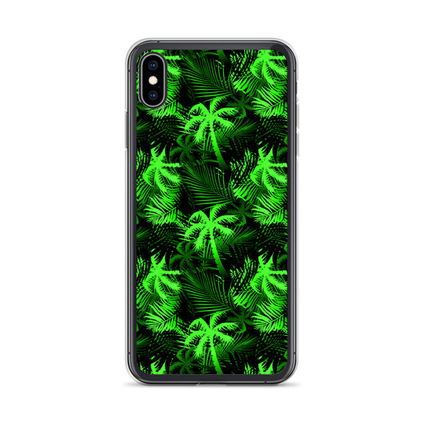 noen green tropical phone case