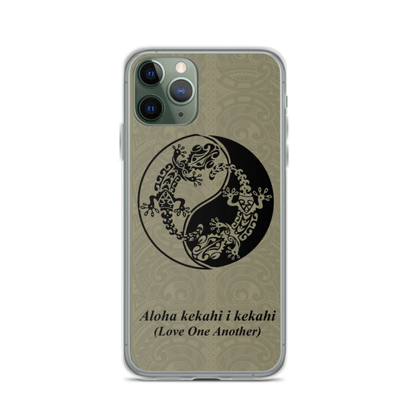 Gecko tattoo phone case