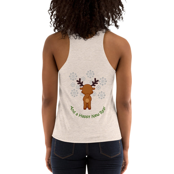 Christmas racerback workout tank