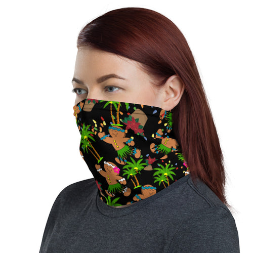 Christmas in Hawaii Neck Gaiter / Face Mask