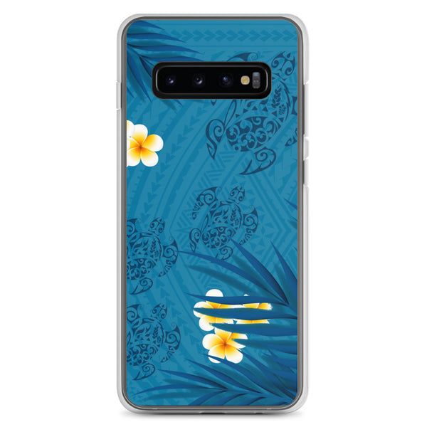 Honu tattoo plumeria samsung galaxy case