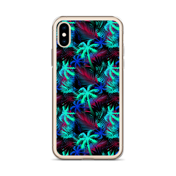 colorful tropical iphone case