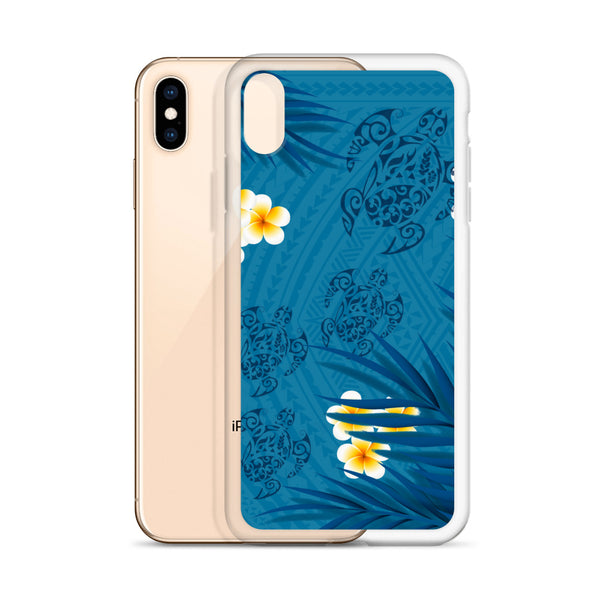 Tropical tattoo iphone case