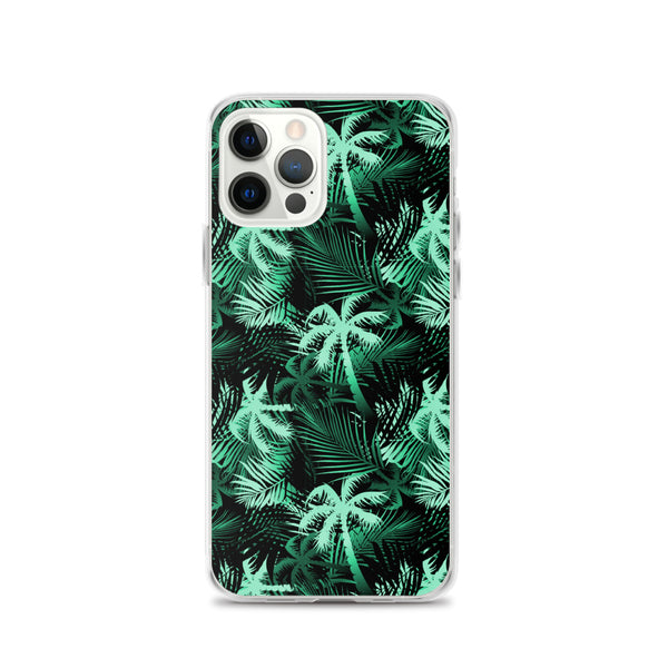 tropical green iphone case