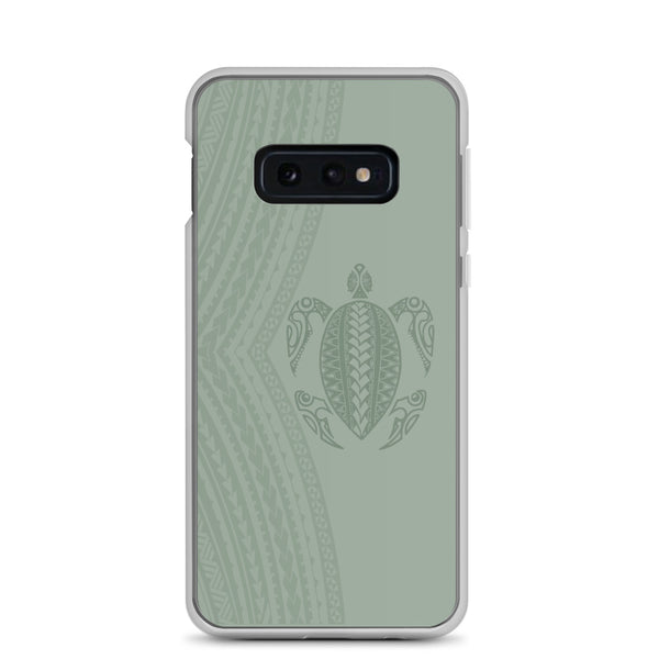 Honu (Hawaiian Sea Turtle) Samoan Tattoo - Samsung Case - Galaxy Case S10 S10+ S10E S20 Plus and Ultra