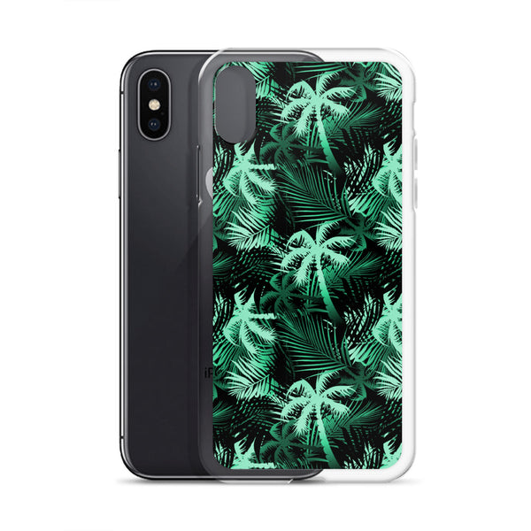 green palm tree phone case
