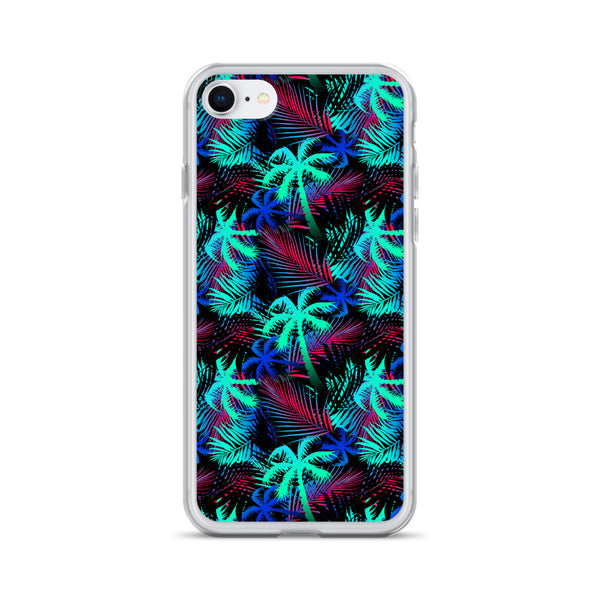 Palm Tree Tropical iPhone Case - Multi Colors -  iPhone Case 11, 11 Pro, 11 Pro max 7, 8, plus SE, XR, X, XS, Xs max