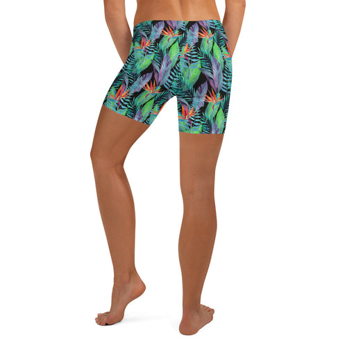 tropical cross fit shorts