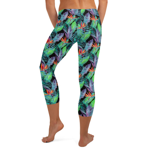 hawaiian tropical leggings