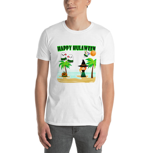 Hawaiian Halloween t-shirt