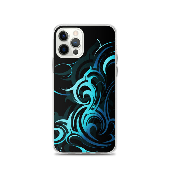 Abstract Wave Pattern iPhone Case -  iPhone Case 12, 12 Mini, 12 Pro, 12 Pro max, 11, 11 Pro, 11 Pro max 7, 8, plus SE, XR, X, XS, Xs max