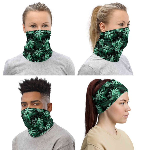 Palm Tree Neck Gaiter / Face Mask