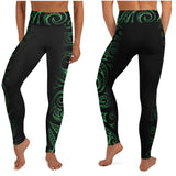 Hawaiian high waist leggings