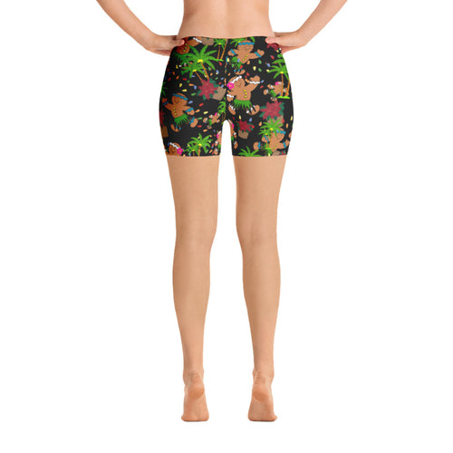 Christmas in Hawaii (Design 2) Crossfit / Athletic Shorts