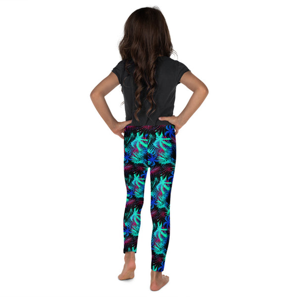 Youth palm tree leggings