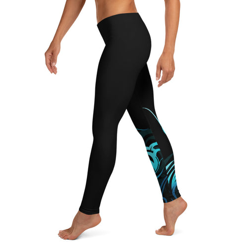 Polynesian wave leggings