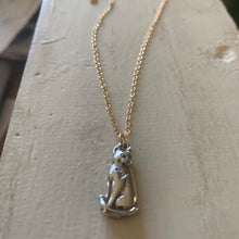 """ADOPT ME TOO"" animal fundrasier necklace"
