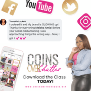 Coins Over Chatter Social Media Training 3 for 1 Bundle - Chicks With Cheques Closet
