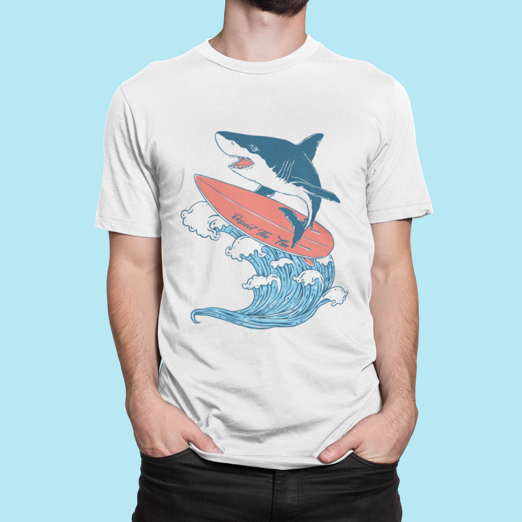 Surfing Shark Tee