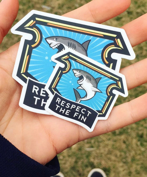 Respect the Fin OG Sticker